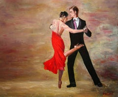 The Dance, Painting, Oil on Canvas