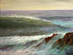 The Wave, Painting, Oil on Canvas