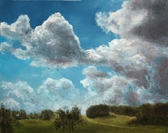Windy Day, Painting, Oil on Canvas