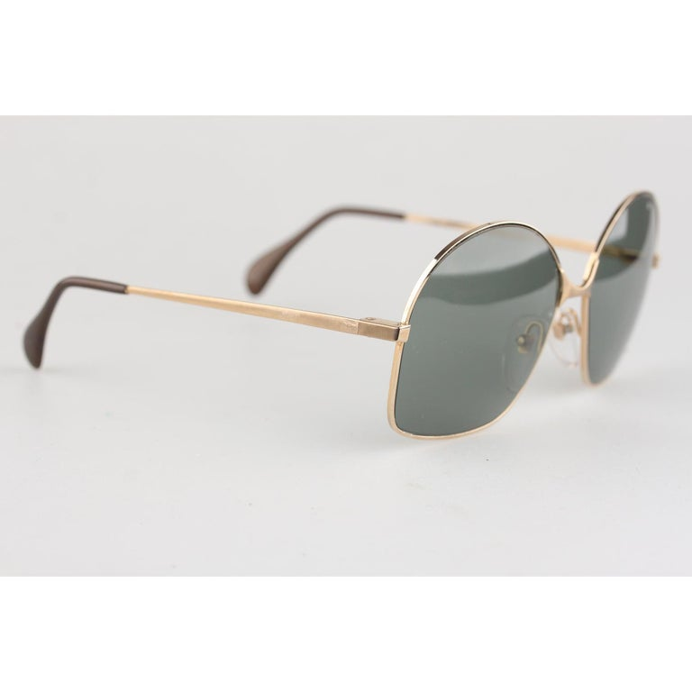 Vogue D'Or by Bausch & Lomb 1/20 10K GF Gold Sunglasses 516 New Old Stock In New Condition In Rome, Rome