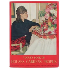 Vogue's Book of Houses, Gardens, People With Photography by Horst