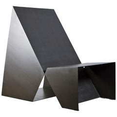 Void Armchair, CONTEMPORARY METAL SHEET ARMCHAIR