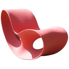 Red Voido Rocking Chair by Ron Arad for Magis, 2006-2008