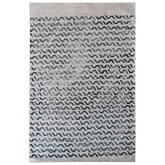 Volare Hand Tufted Modern Rug in New Zealand Wool by Deanna Comellini 200x300 cm