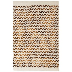 Volare Hand Tufted Modern Rug in New Zealand Wool by Deanna Comellini 160x240 cm