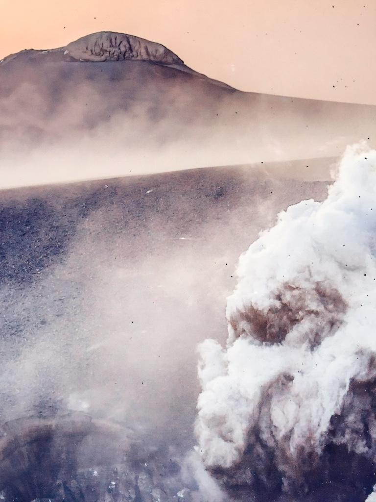 Volcanic eruption in Eyjafjallajökull, 2010  Until now we have almost solely seen documentary  photos of the eruption in Eyjafjallajökull. The photographs in this exhibition show different  stories and gives people the possibility of enjoying