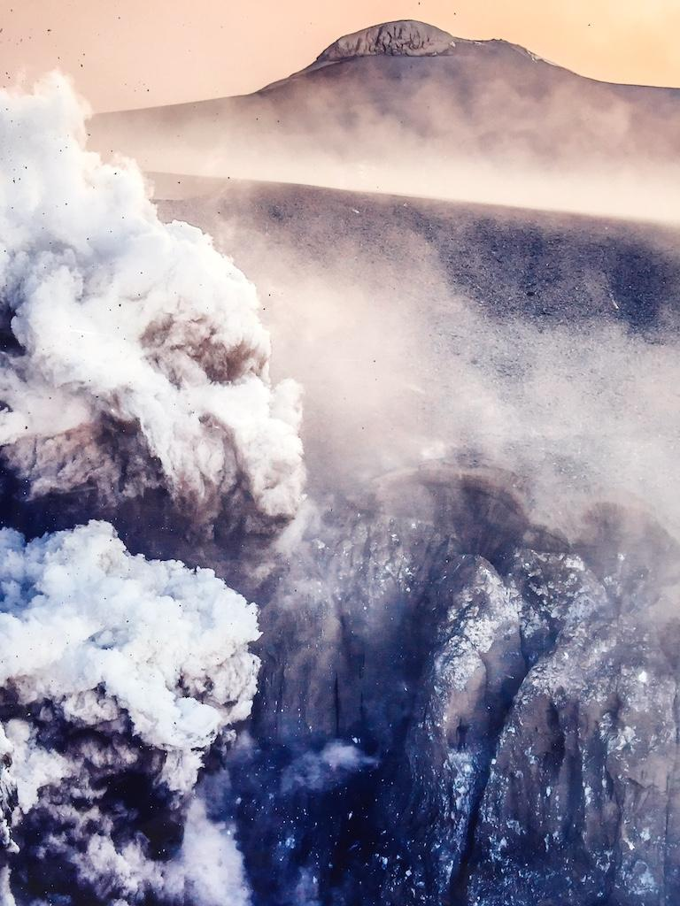 Volcanic Eruption in Eyjafjallajökull, 2010 In New Condition For Sale In Brooklyn, NY