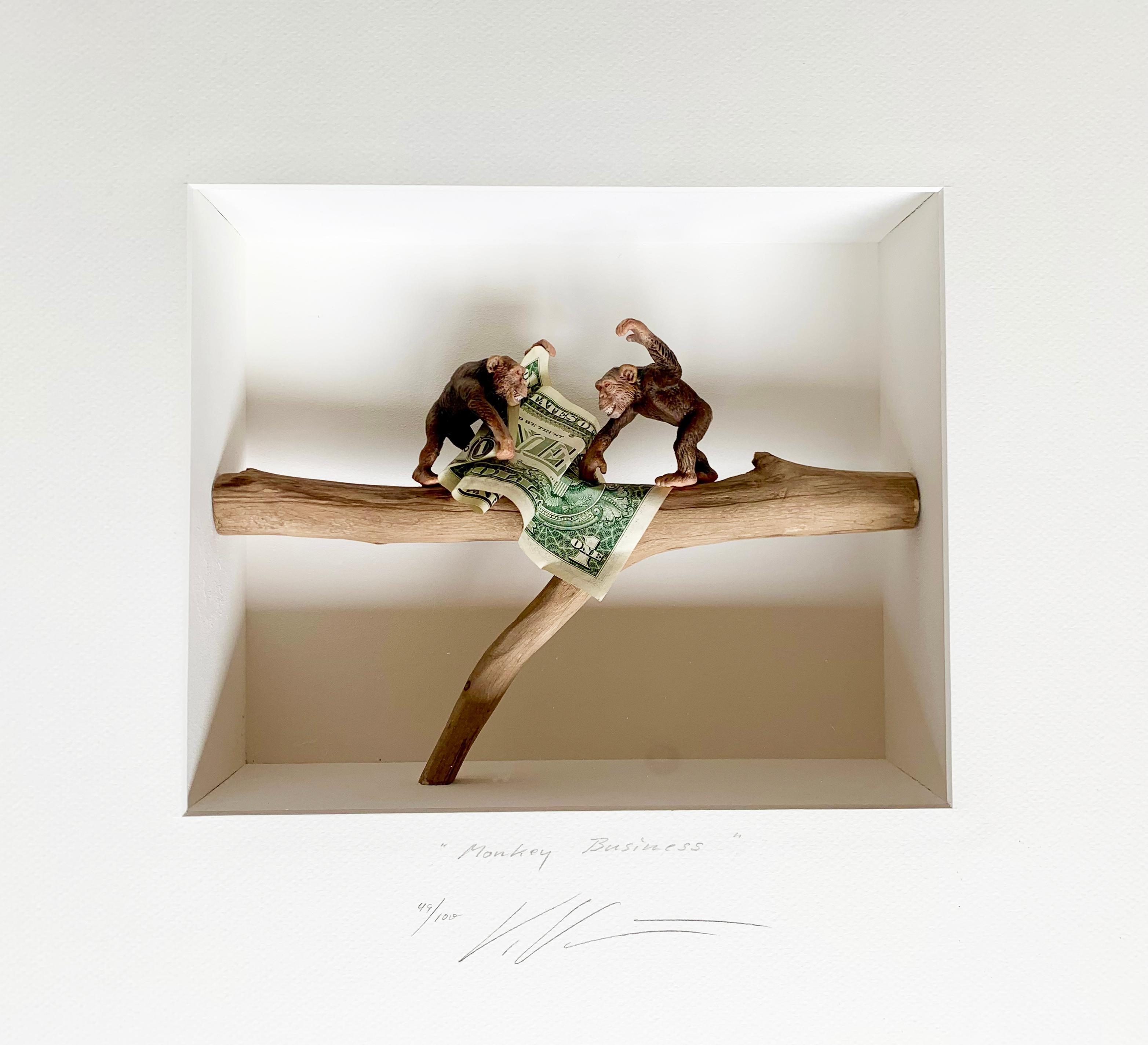 "Volker Kuhn ""Monkey Business"", 3D object art"