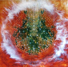 Crystallking series -  Contemporary Art, 21st century - oil painting on canvas