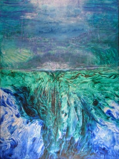 Zen - Contemporary art - painting on canvas - spiritual landscape