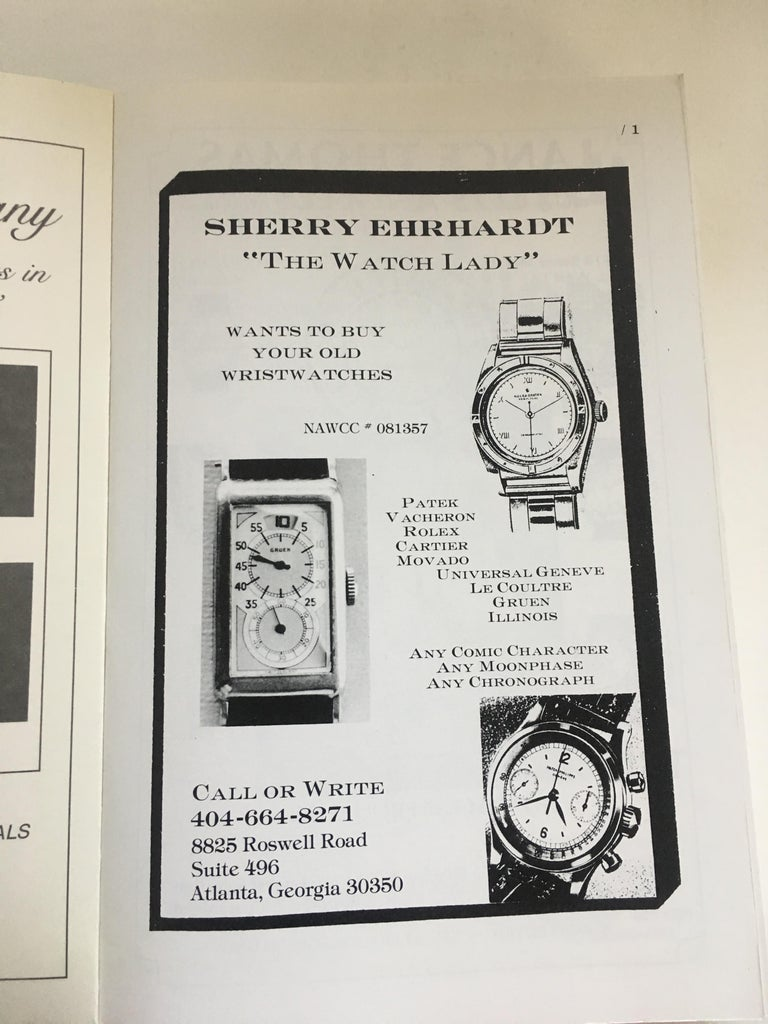 VOLUME 4: Vintage American & European Wrist Watch Price Guide Published in 1989 In New Condition For Sale In Dallas, TX