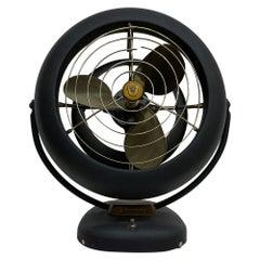 Vornado Antique Electric Metal Desk Fan Powerful & Silent Restored 1940s Vintage