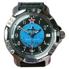 Vostok Komandirsky Russian Military Wristwatch