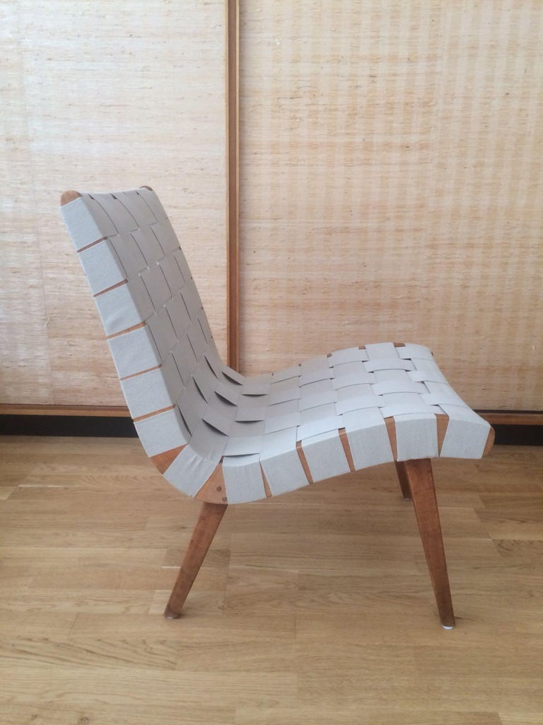 Mid-Century Modern Vostra Chair for Walter Knoll Jens Risom 1950  DK/USA For Sale
