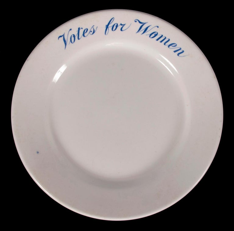IRONSTONE PLATE WITH