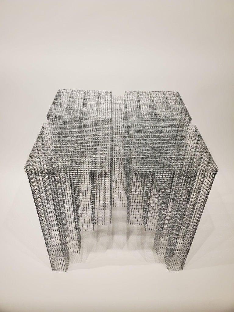 Modern Voukenas Petrides Blur Table For Sale
