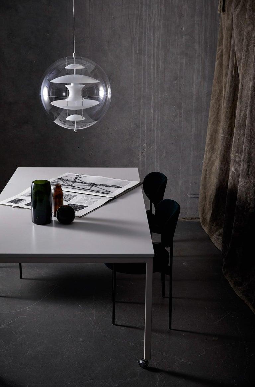 Danish VP Globe Glass Standard Pendant Light by Verner Panton For Sale