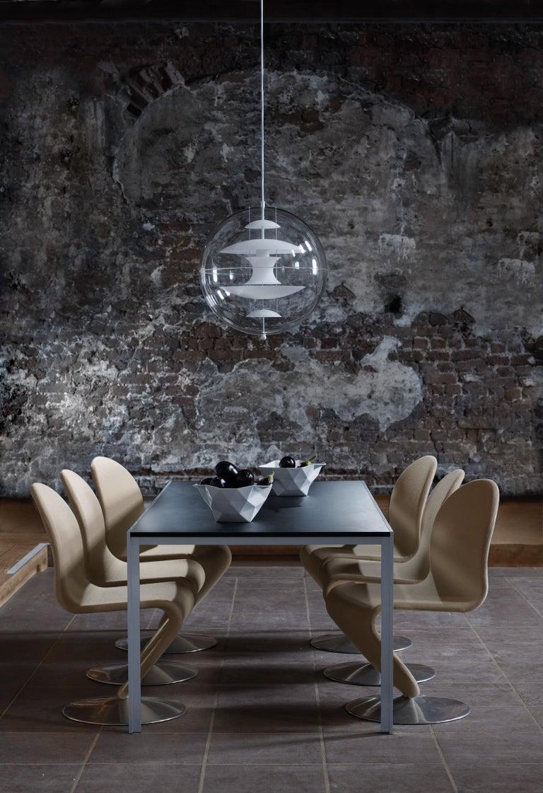 VP Globe Glass Standard Pendant Light by Verner Panton In New Condition For Sale In Horsens, DK