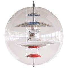 VP Globe Large Pendant Light by Verner Panton
