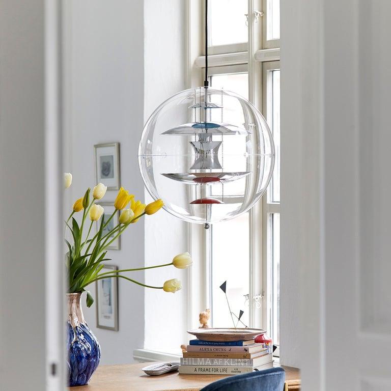 VP Globe Standard Pendant Light by Verner Panton For Sale 5