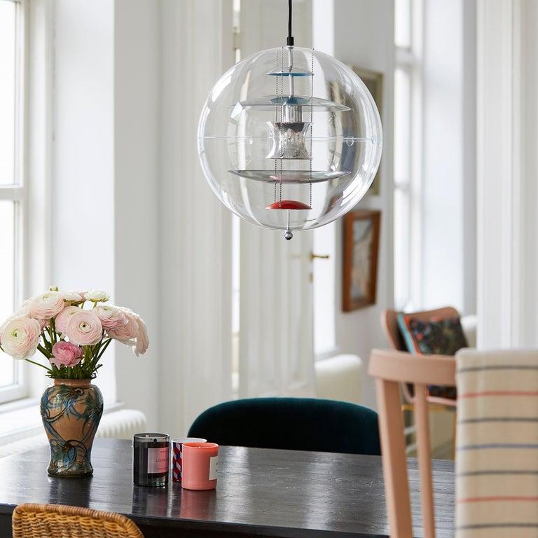 VP Globe Standard Pendant Light by Verner Panton For Sale 6