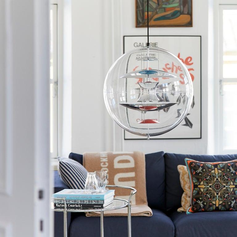 VP Globe Standard Pendant Light by Verner Panton For Sale 7