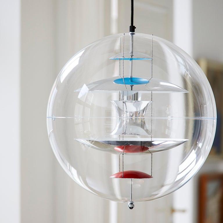 VP Globe Standard Pendant Light by Verner Panton For Sale 8
