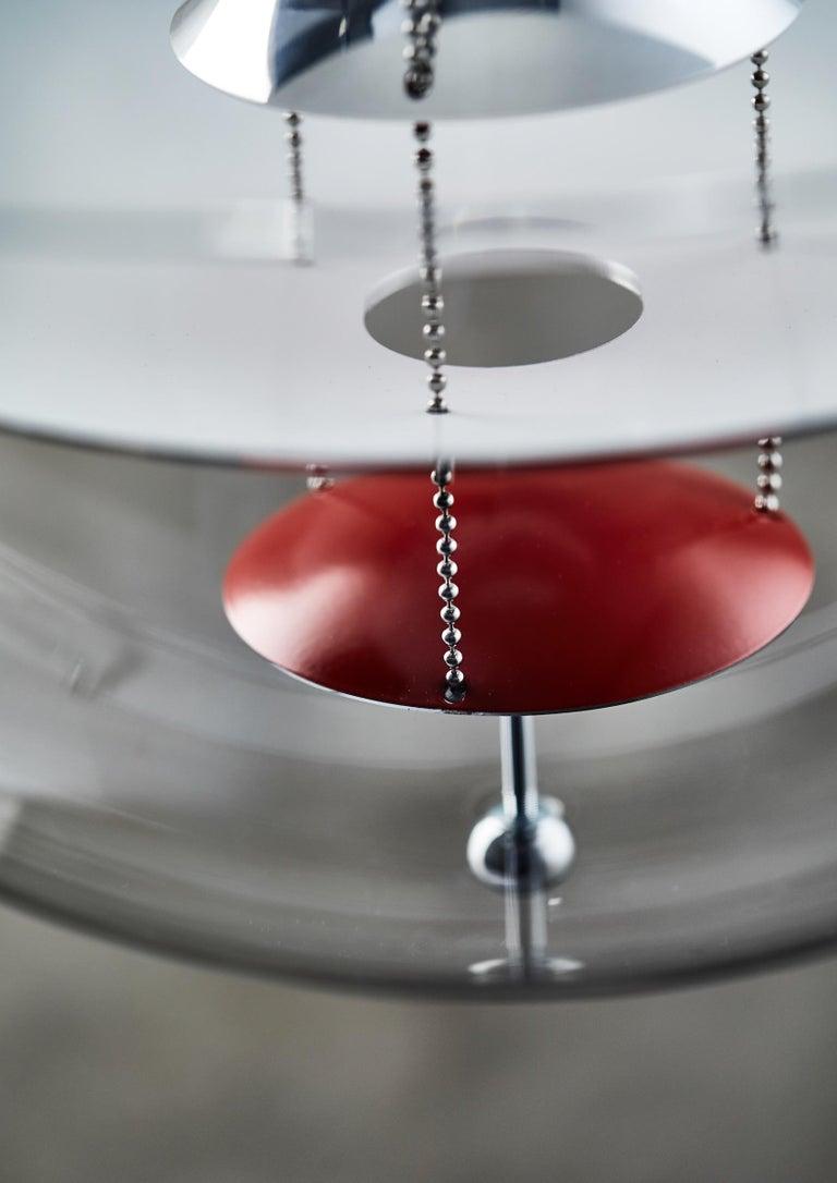 Contemporary VP Globe Standard Pendant Light by Verner Panton For Sale