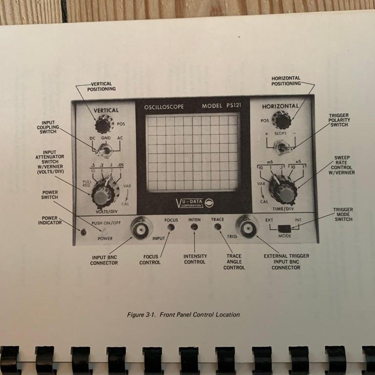 VU DATA Corporation Series PS121 Mini-Portable Oscilloscope For Sale 6