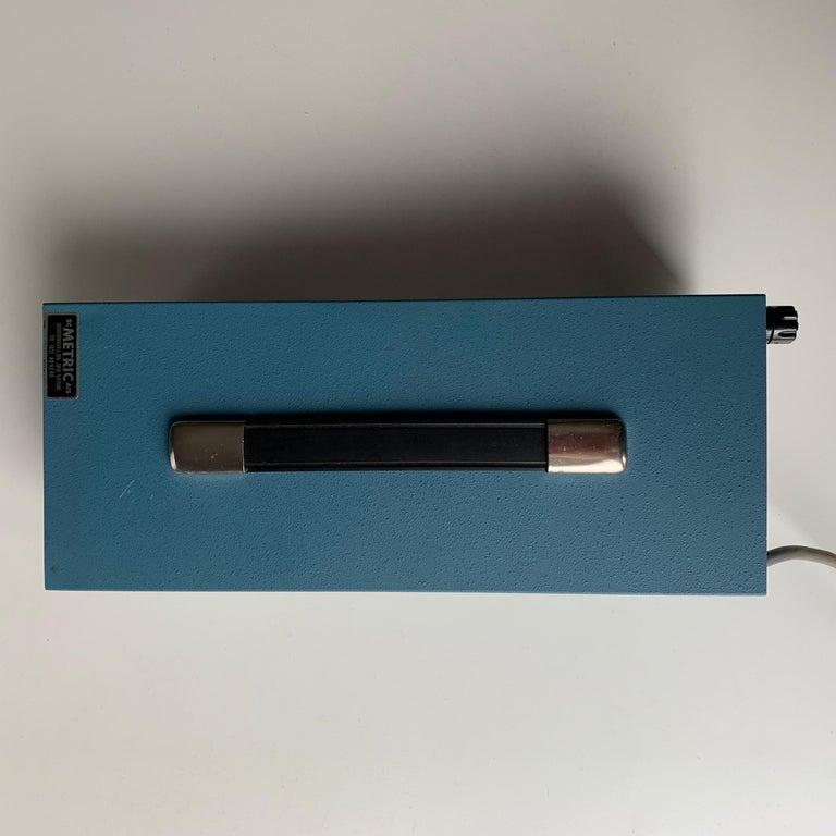 VU DATA Corporation Series PS121 Mini-Portable Oscilloscope For Sale 7