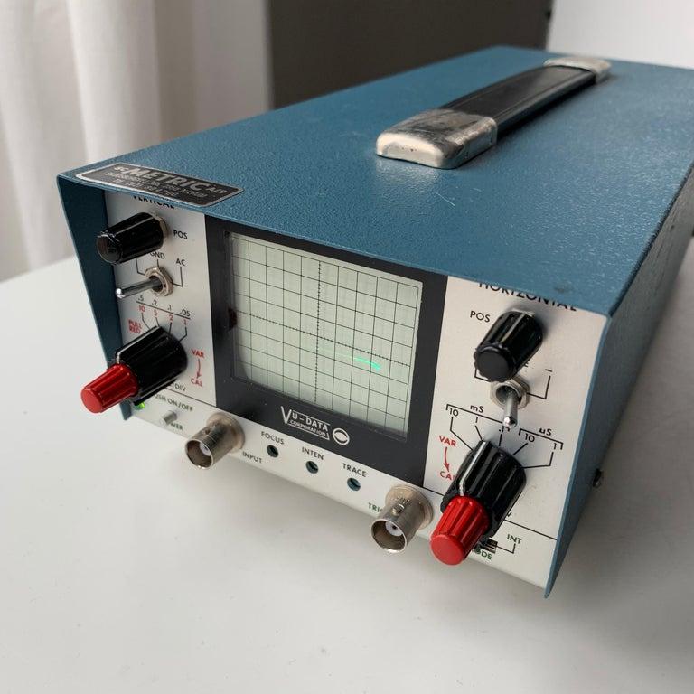 American VU DATA Corporation Series PS121 Mini-Portable Oscilloscope For Sale