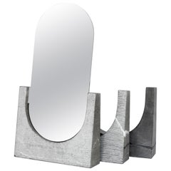 Vuoti Riflessi, Contemporary Mirror or Sculptures in Marble and Steel
