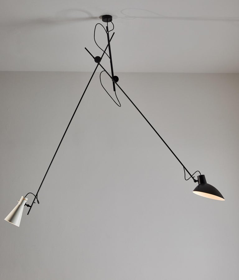 VV Cinquanta Suspension Light by Vittoriano Viganó In New Condition For Sale In Los Angeles, CA