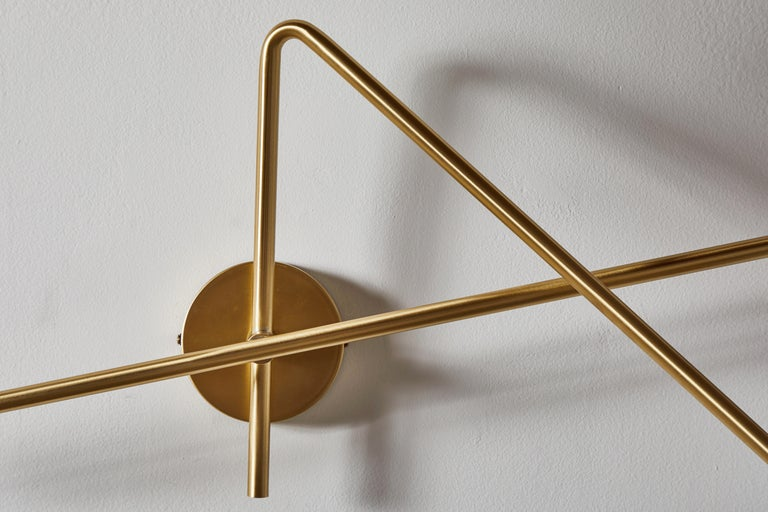 VV Cinquanta Twin Wall Light by Vittoriano Viganó For Sale 1