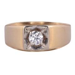 VVS2 Diamond Mens Ring
