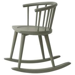 W. 608 Gray Rocking Chair by Fabrizio Gallinaro
