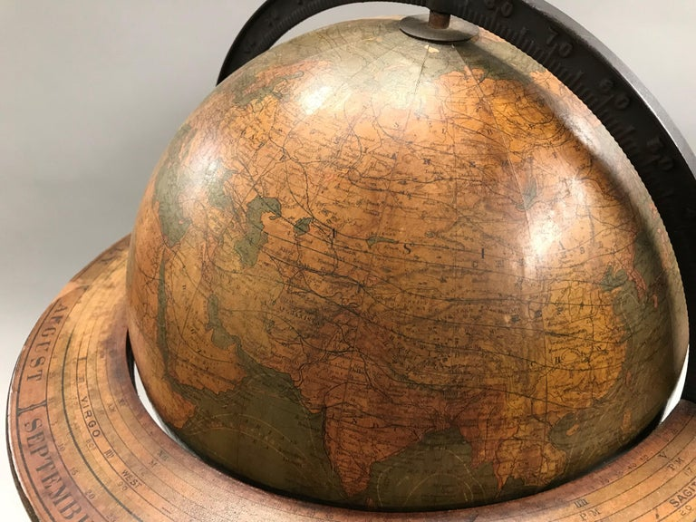 W. & A.K. Johnston Terrestrial Globe by Weber Costello For Sale 4
