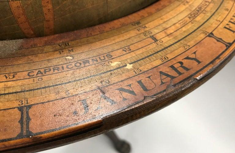 W. & A.K. Johnston Terrestrial Globe by Weber Costello For Sale 6