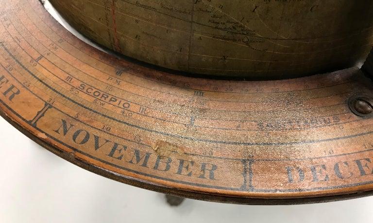 W. & A.K. Johnston Terrestrial Globe by Weber Costello For Sale 7