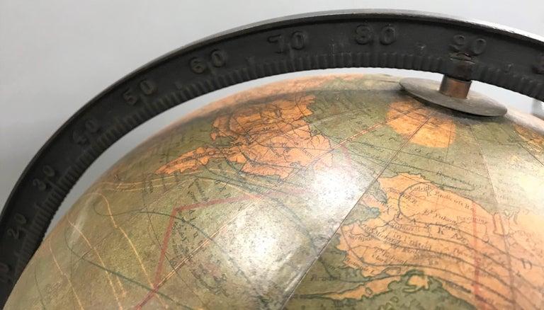W. & A.K. Johnston Terrestrial Globe by Weber Costello For Sale 2