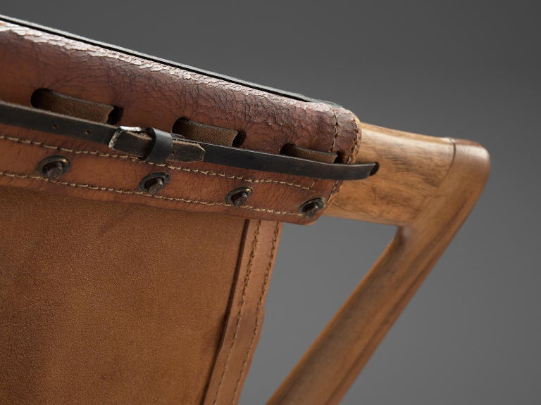 W. Andersag Rocking Chair in Teak and Original Leather 9