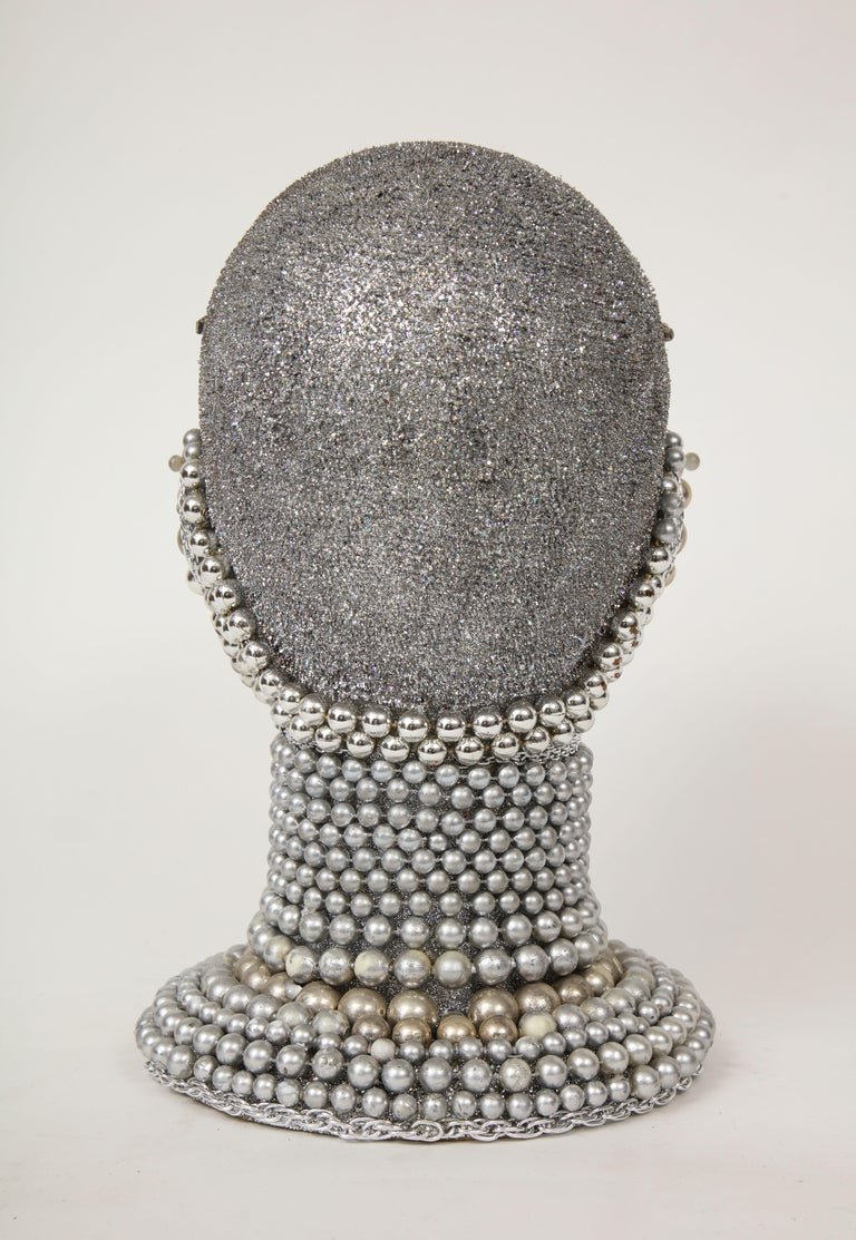 20th Century W. Beaupre Chain Mail Bust For Sale