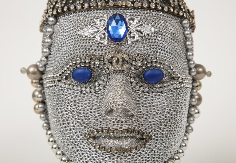 W. Beaupre Chain Mail Bust For Sale 1