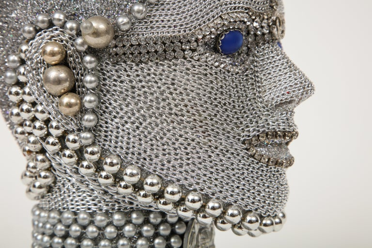 W. Beaupre Chain Mail Bust For Sale 2