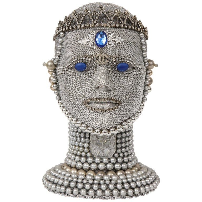 W. Beaupre Chain Mail Bust For Sale