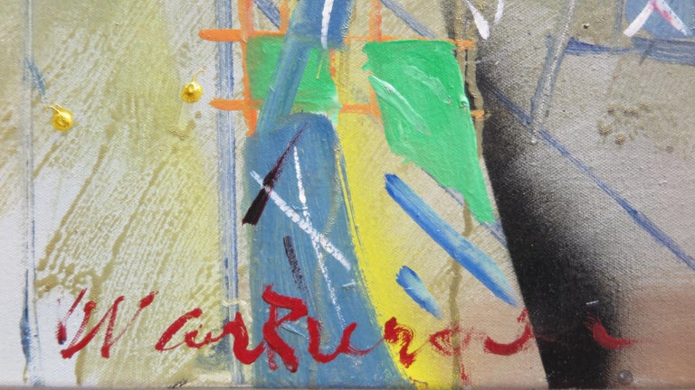 Contemporary W. Carl Burger Painting For Sale