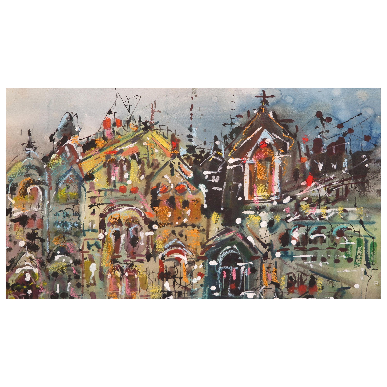 """W. Carl Burger Painting Titled """"Reawakening"""""""