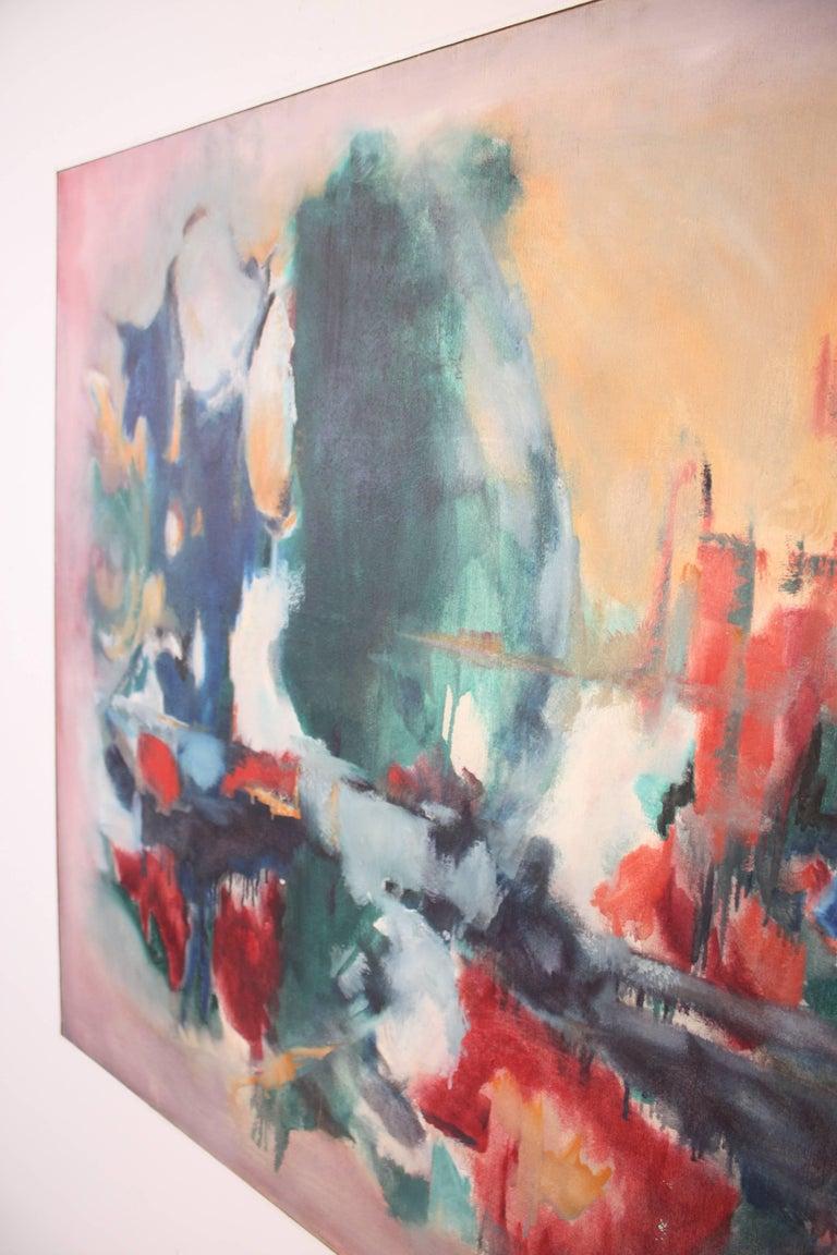 American W. Heffel, Oil on Canvas, 1963 For Sale