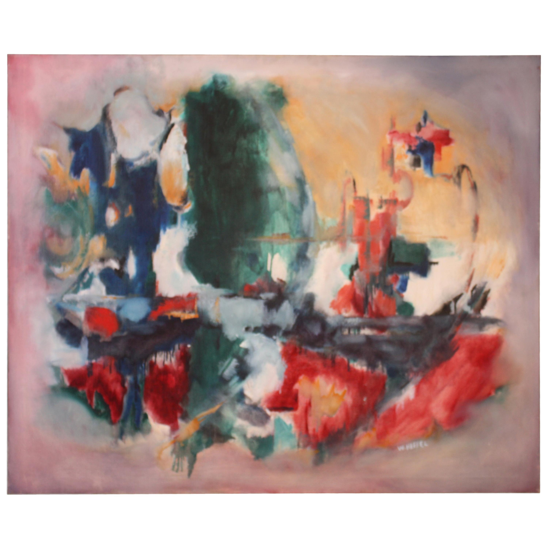 W. Heffel, Oil on Canvas, 1963
