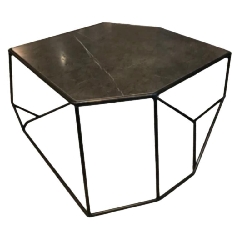 W Side Table/Coffee Table in Stone Henge Designed By Massimo Castagna